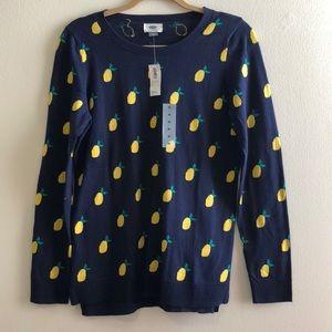 NWT 🍋 Old Navy Lemon Print Lightweight Sweater 🍋